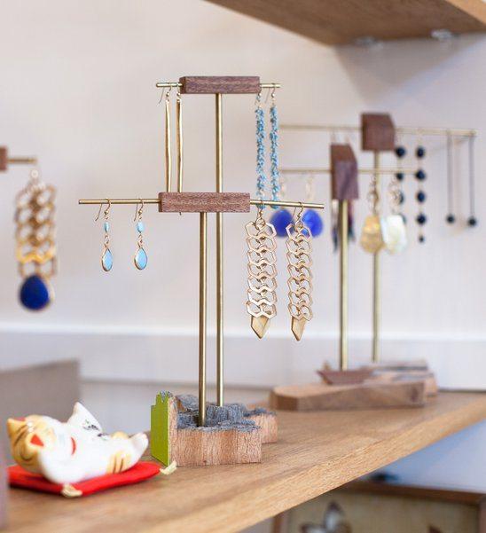 Super pretty jewelry at Mira Mira