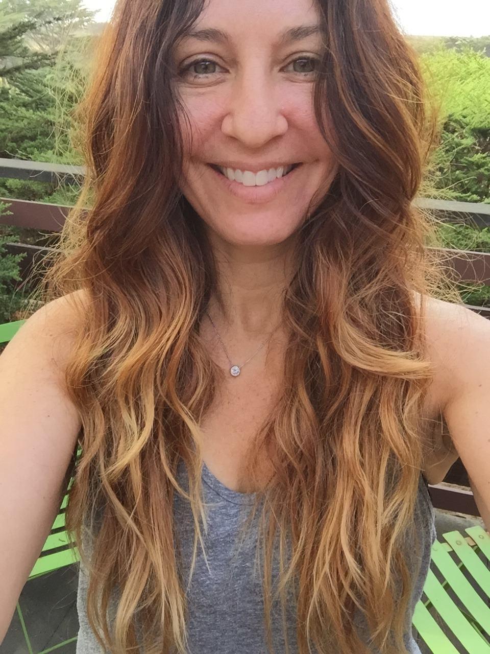 Post-braids hair