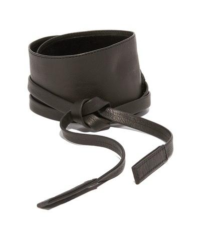 black tie belt